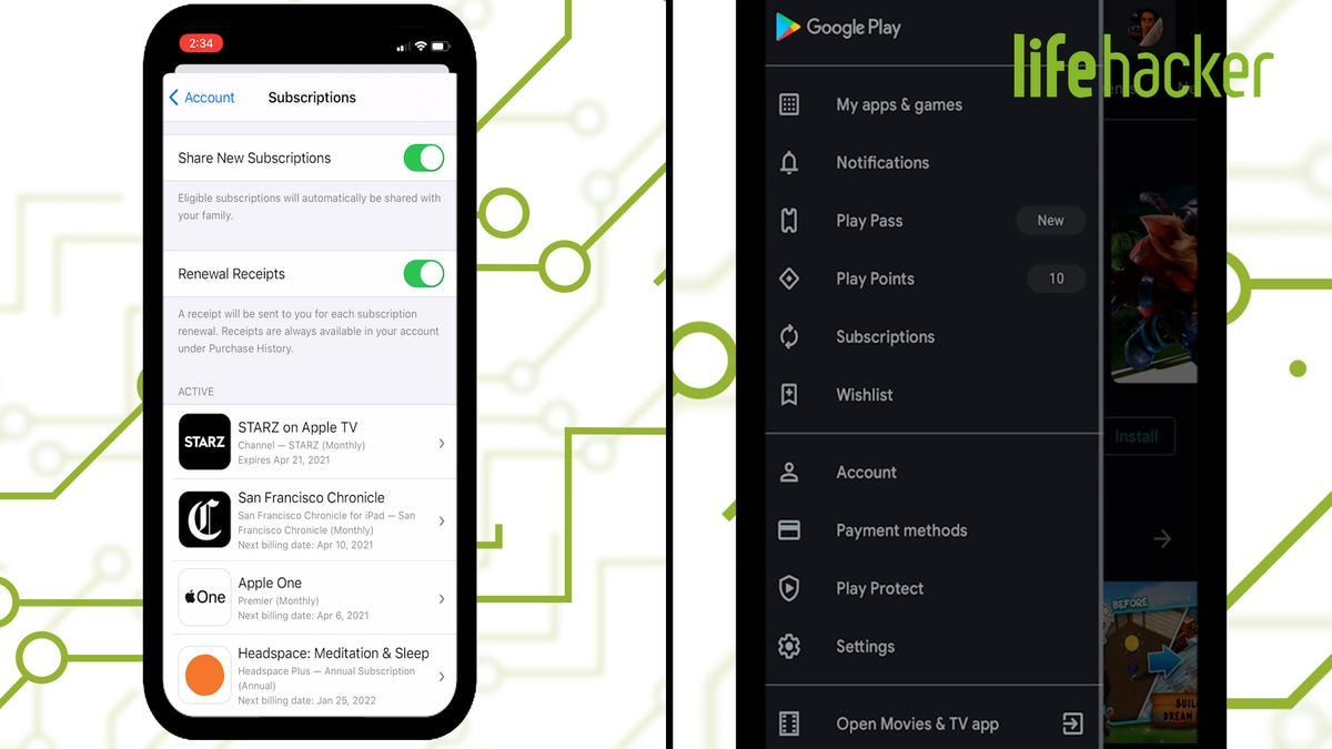 How to Easily Manage All Your Subscriptions on iOS and Android