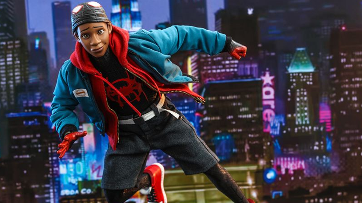 What's Up, Danger? Hot Toys' New Into the Spider-Verse Figure Is Outstanding