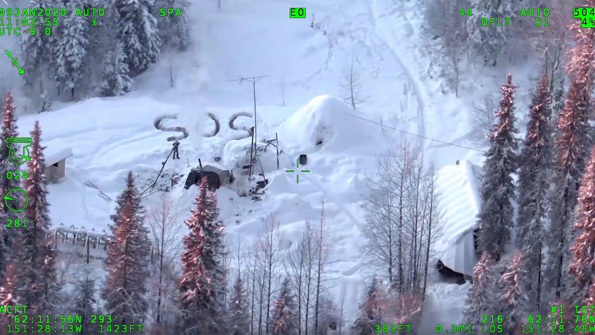 Un hombre sobrevive tres semanas en Alaska a más de 20 bajo cero después de incendiarse su cabaña