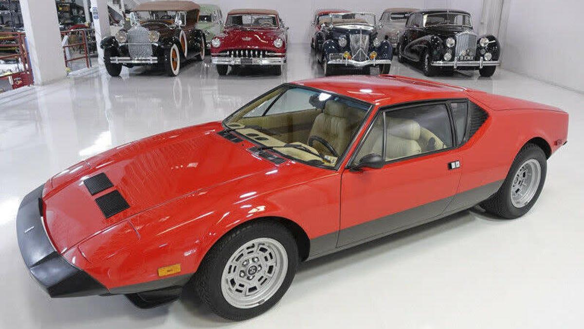 Would You Drop $249,900 On Carroll Shelby's 1983 De Tomaso Pantera GTS?