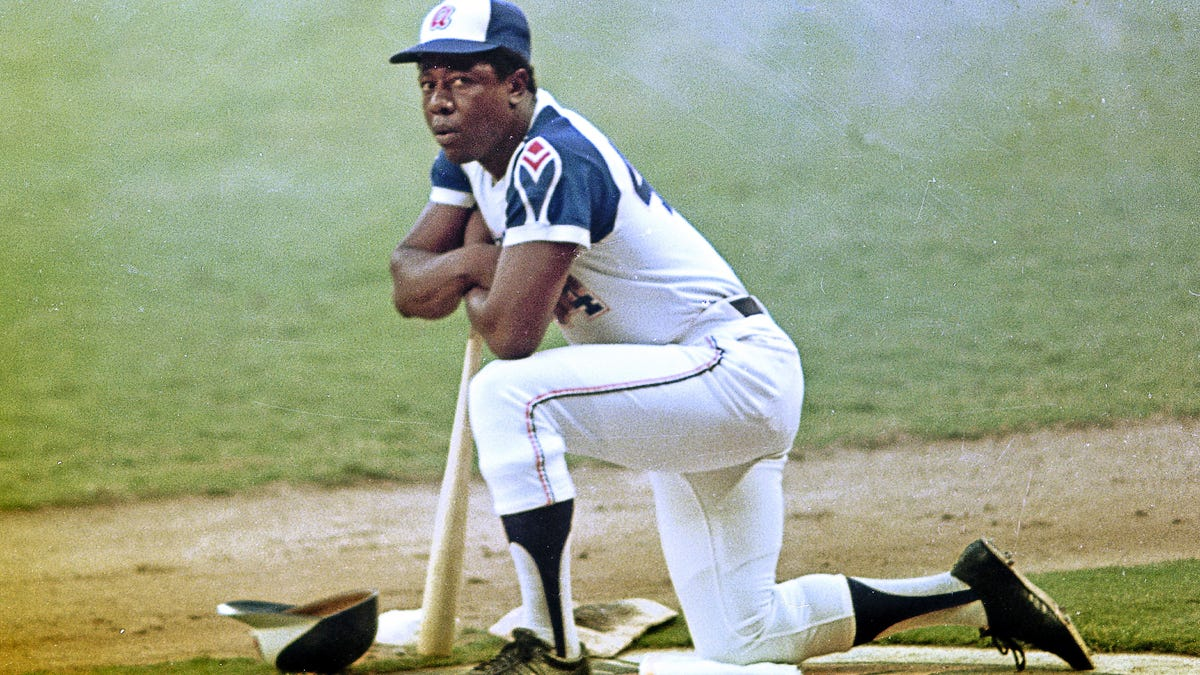 A the life of Hank Aaron in photos