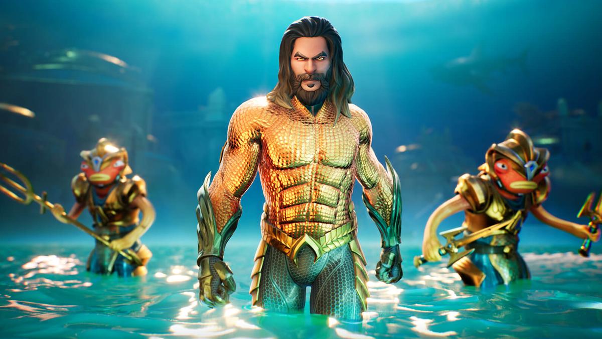 Florida Tourist Attraction Sues Fortnite Over Aquaman Castle