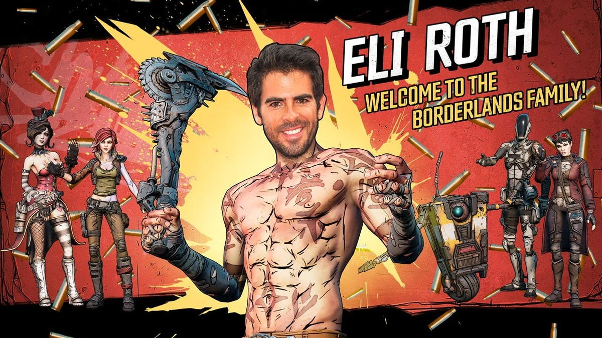 Eli Roth Will Try And Direct A Borderlands Movie - Kotaku