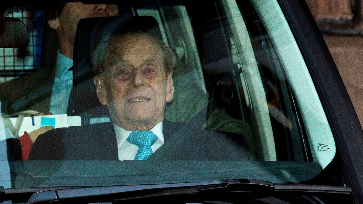 Prince Philip Leaves Hospital for ...