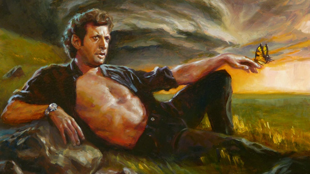 Someone made a song out of Jeff Goldblum's weird Jurassic Park laugh