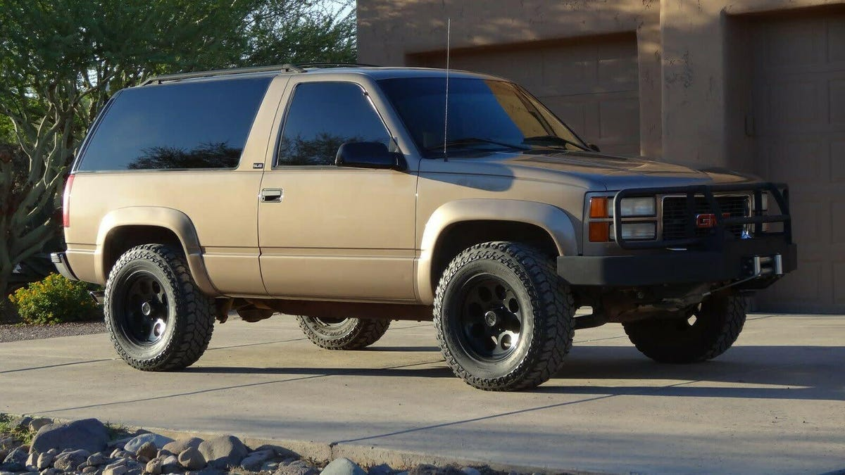 At 8 750 Is This 1995 Gmc Yukon Slt The Four By Four For You