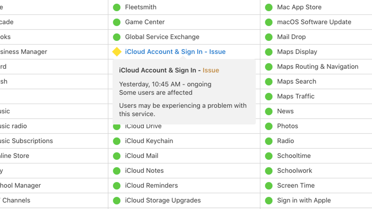 There's a Problem With iCloud Sign-In and Activation Right Now