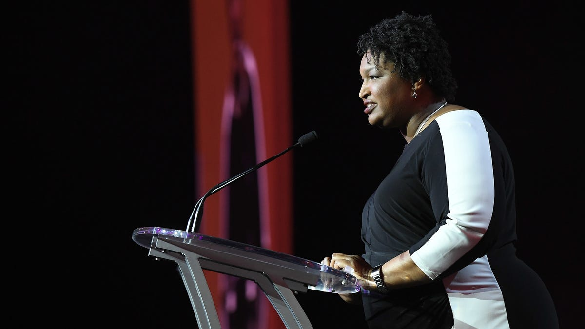 Stacey Abrams Says This Isn't Over Yet