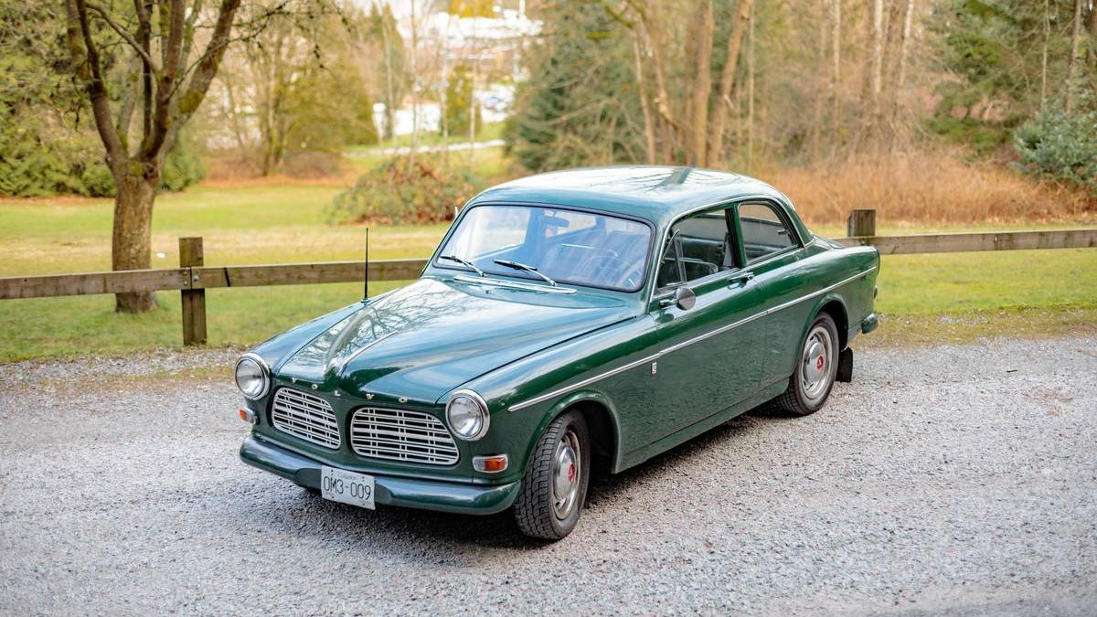 At $12,500 Canadian, Is This 1967 Volvo 122S A Class Act?