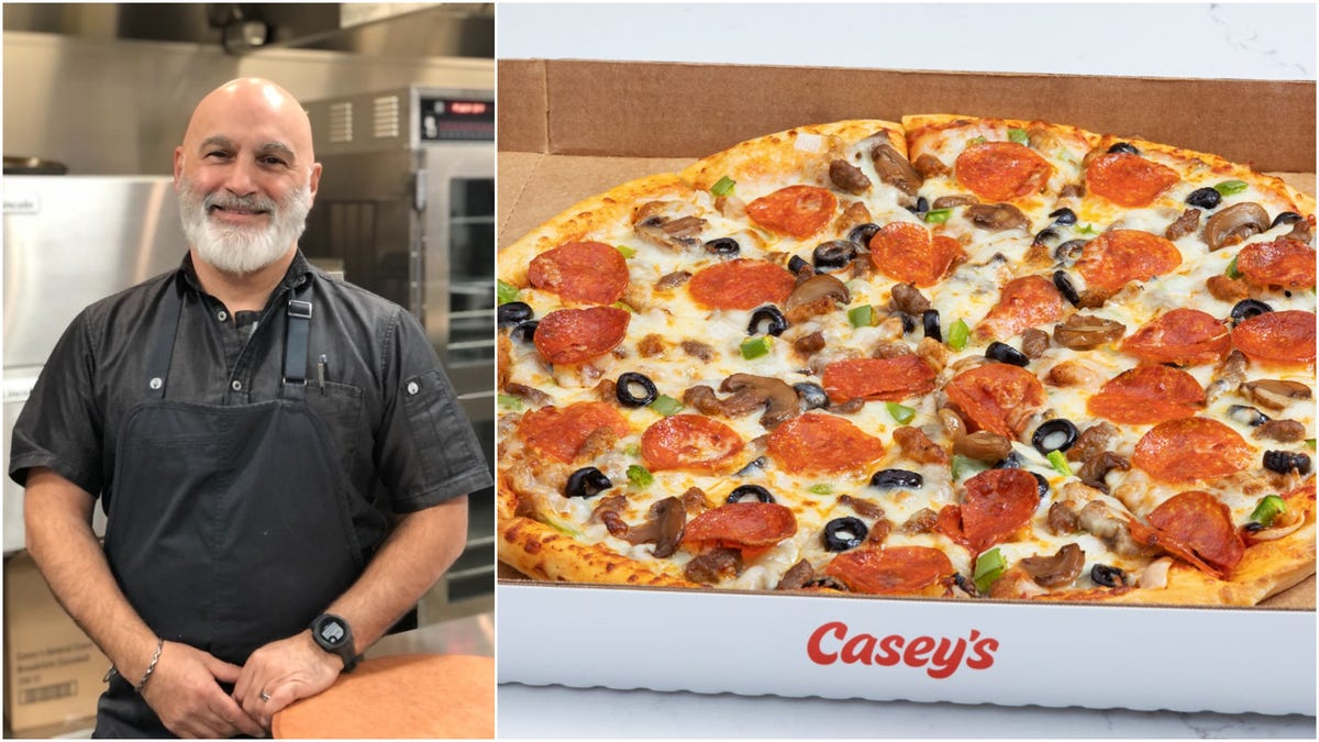 Casey's devotees love convenience store pizza—we asked the head pizza chef why