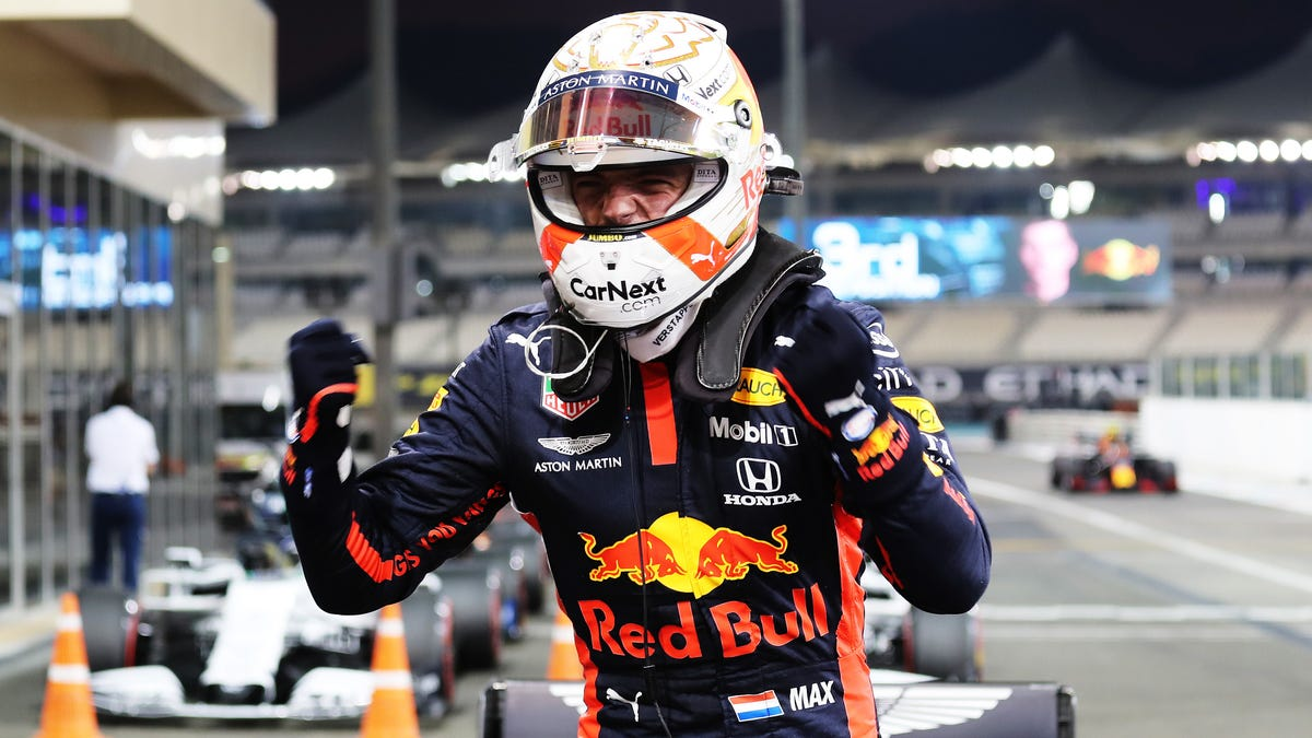 Red Bull Racing Takes Its First Pole Of 2020 With Max Verstappen In Abu Dhabi