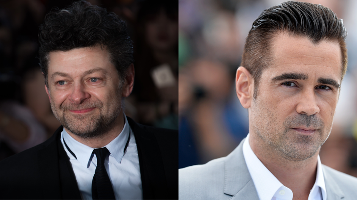 Report: Andy Serkis and Colin Farrell Could Be Batman's New Alfred and Penguin