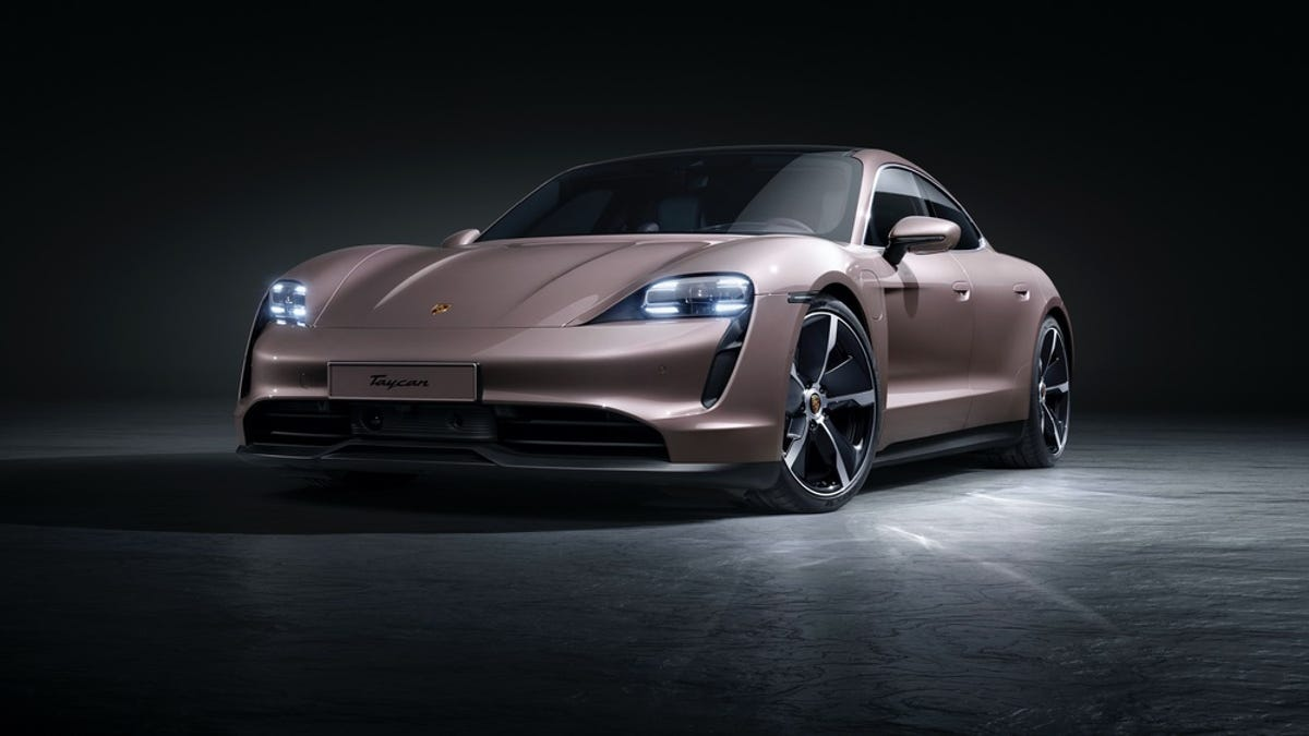Finally Porsche Has Unveiled Its Sub-$100,000 Electric Sedan For The Slightly Less Wealthy Masses -