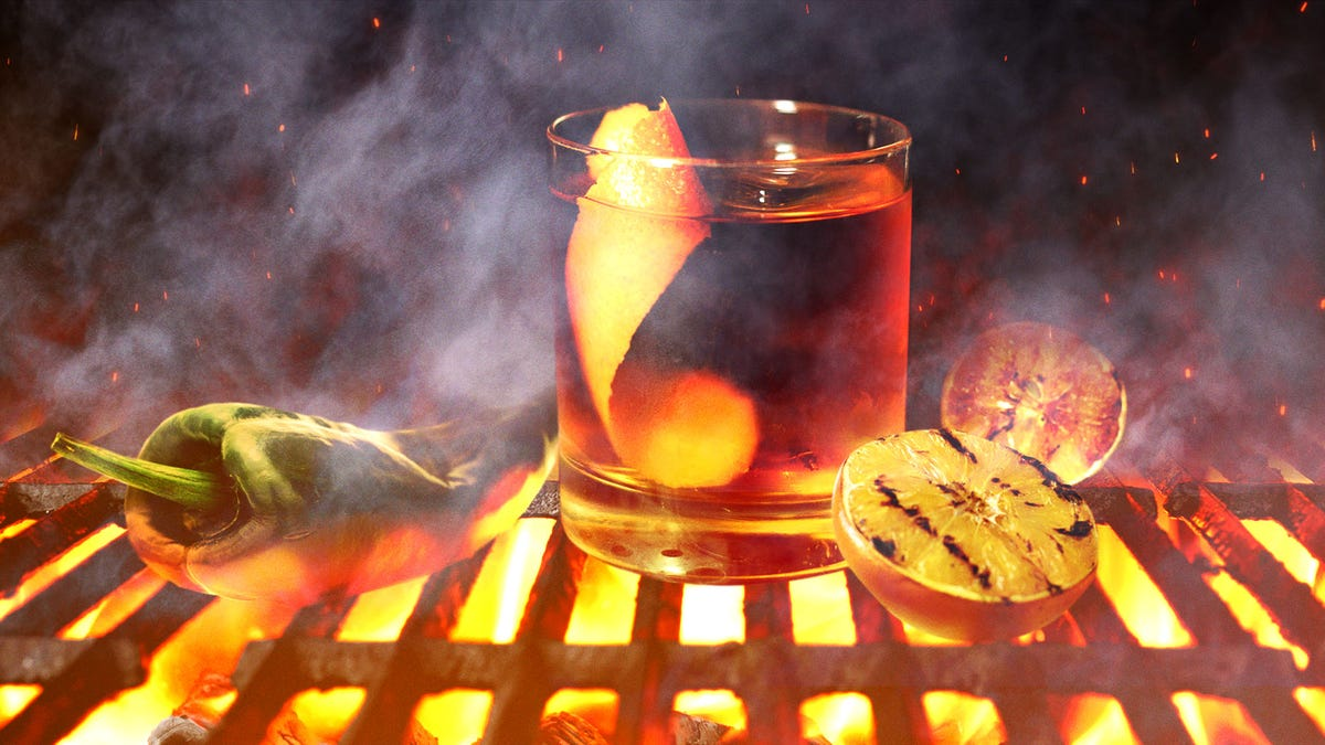 Smoky cocktails you can make with any grill