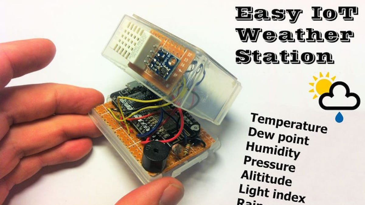 Build Your Own Internet-Connected Handheld Weather Station