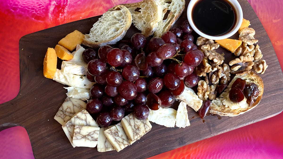 Recipe: Balsamic Pickled Grapes, a cheese board must-have