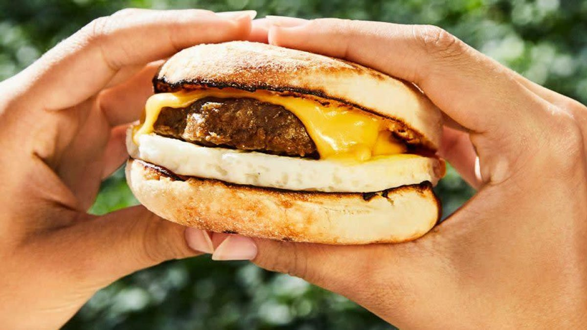 Get a Free 'Beyond Sausage' Breakfast Sandwich at Dunkin' This Friday and Saturday