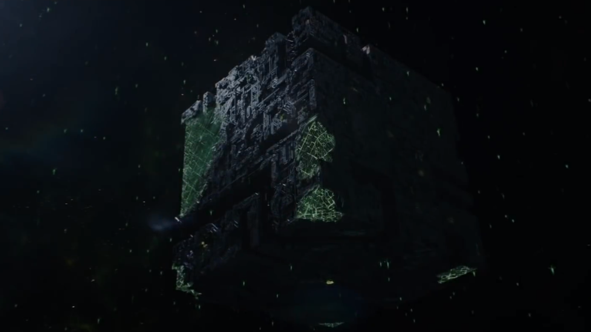 Meet Star Trek: Picard's Decommissioned Borg Cube