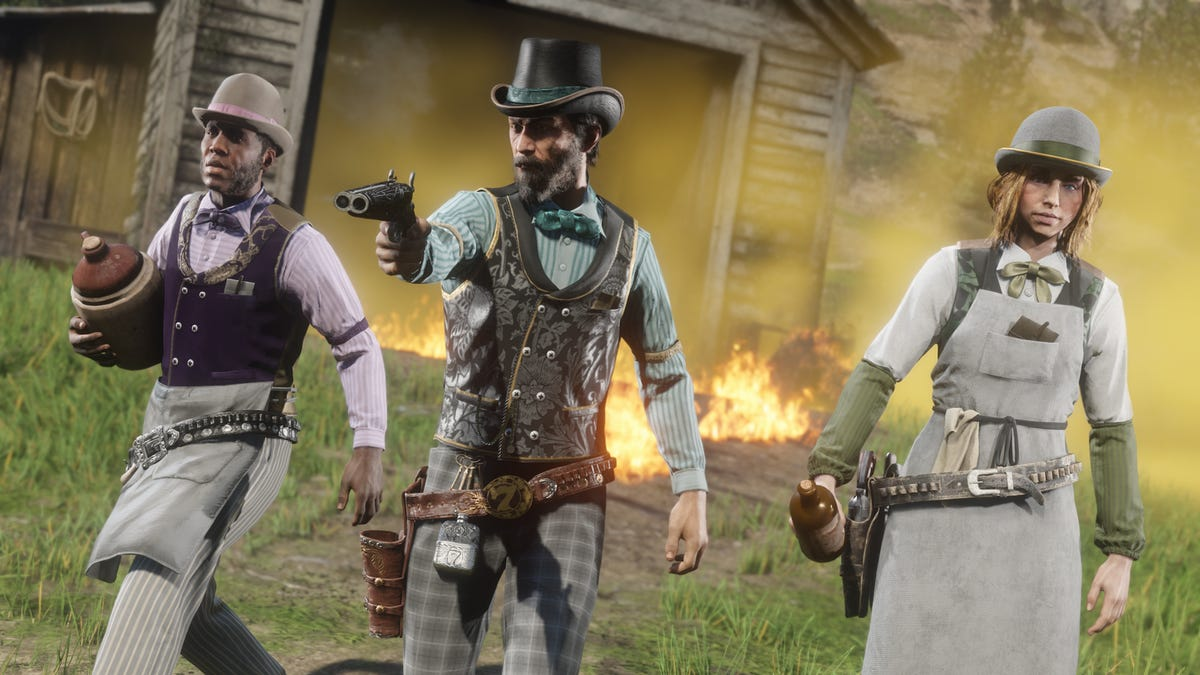 Red Dead Online's New Mooonshiner Role Is The Best Yet