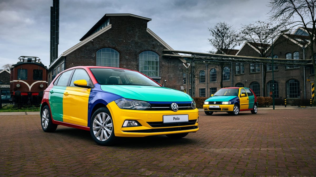 Volkswagen Builds A One-Off Harlequin Polo To Splash Color On A Gray World