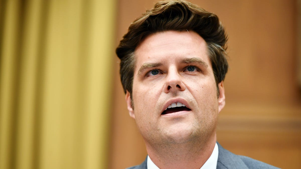 Matt Gaetz's Desperate PR Campaign Is Not Doing What He Thinks It's Doing