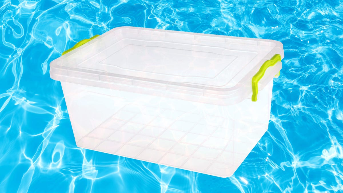 Put Your Kid in Some Tupperware, Call it a Pool
