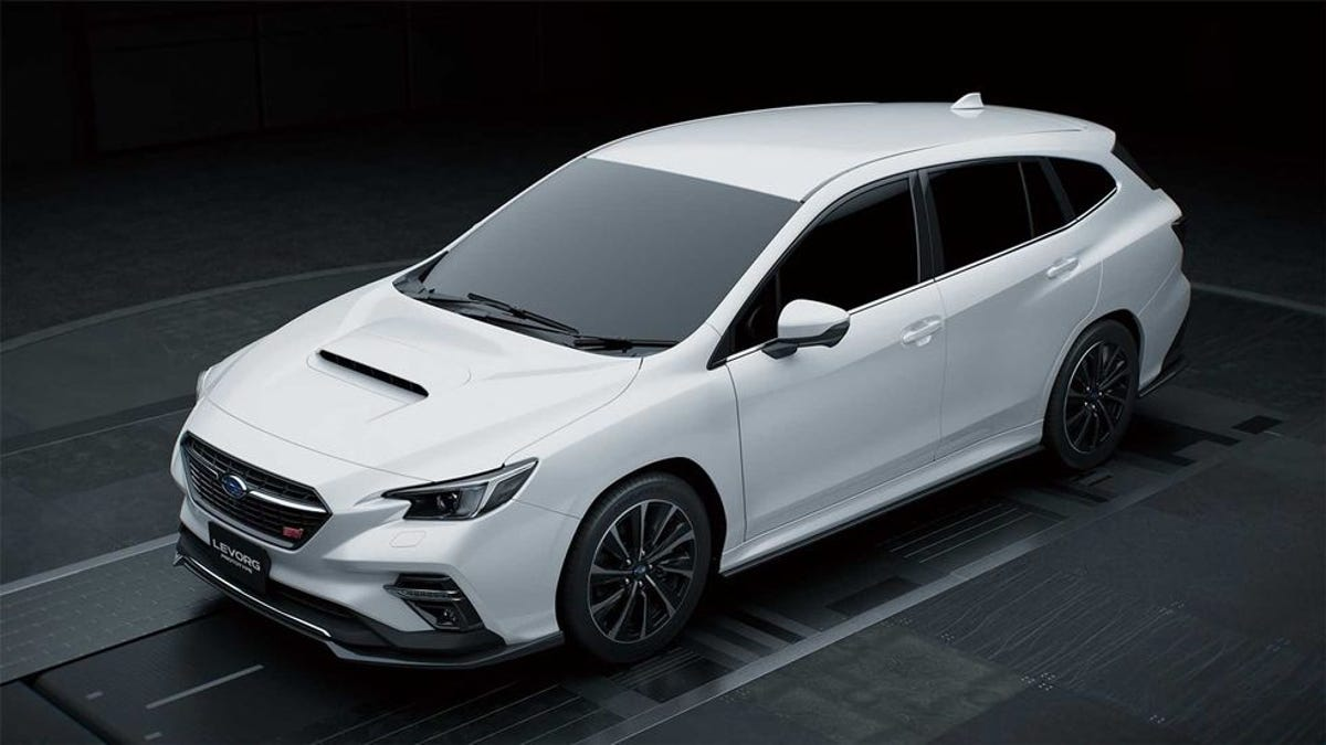 The Next Subaru WRX STI Is Probably Going To Look Like This Hot Japanese Wagon