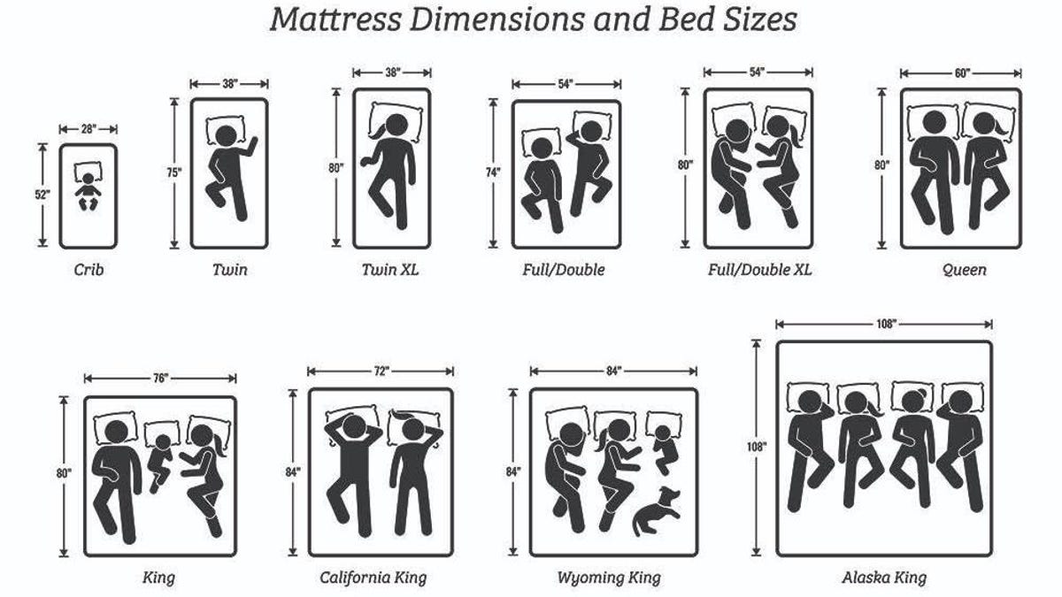 Find the Right Mattress Size With This Guide