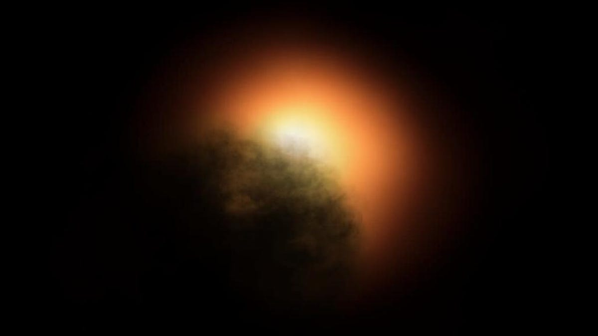 Photo of A dusty Burp could explain the mysterious gradation of the supergiant star Betelgeuse