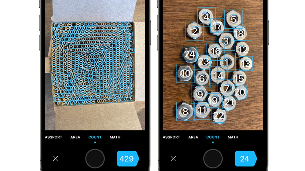 This App Uses Your Phone's Camera to Count A Pile of Objects