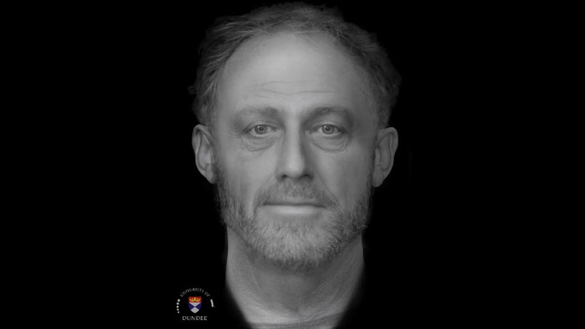 The Haunting Face of a Man Who Lived 700 Years Ago