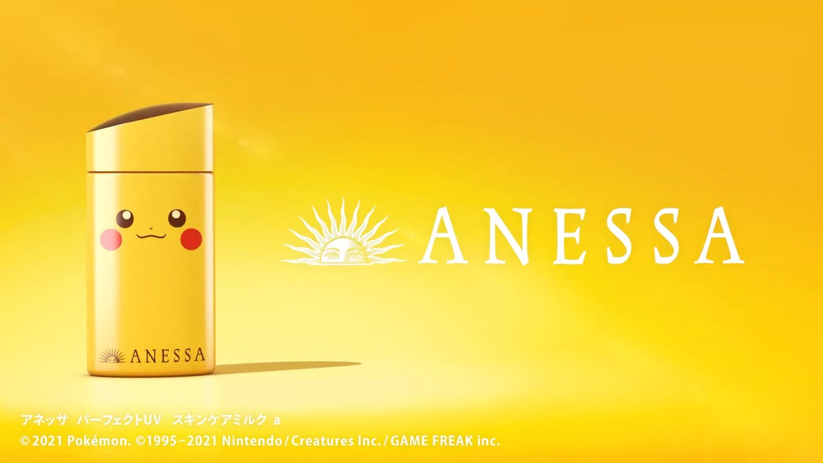 Official Pokémon Sunscreen Coming To Asia