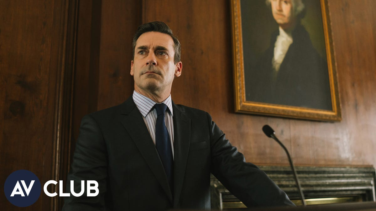 Jon Hamm says sure, he'd run for office—but he wouldn't expect to win - The A.V. Club
