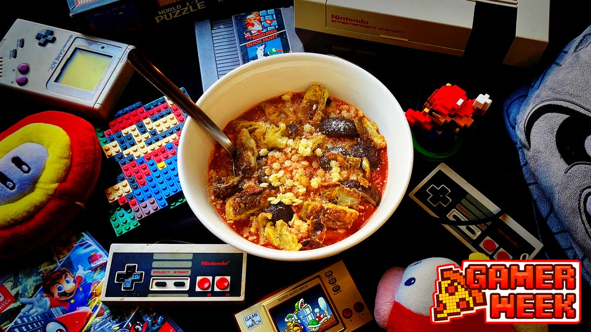 Recipe: Mario Soup, a healthy bowl of gamer grub for picky kids
