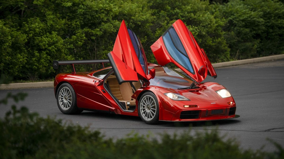 This Le Mans-Spec McLaren F1 Could Be Yours For A Price So High You Have To Request It