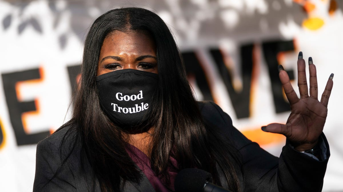 Cori Bush Asks Congress: 'Does Your Silence [on White Supremacy] Speak to Your Agreement?'