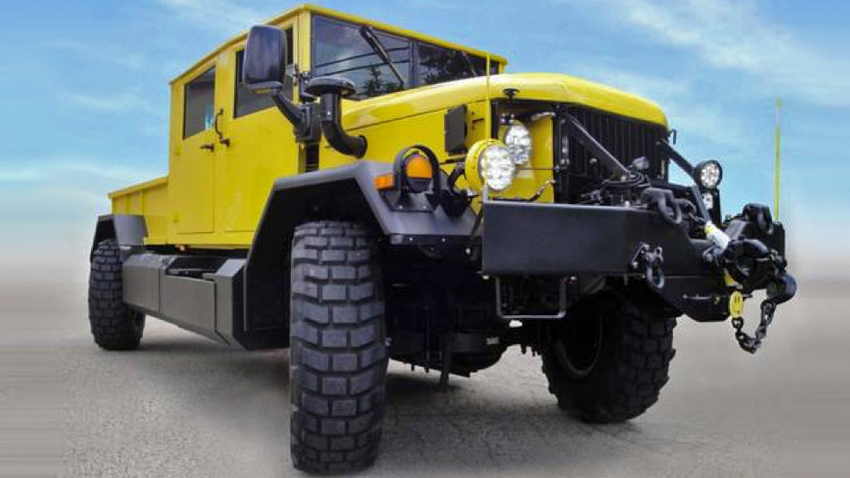 This Restomod Army Truck Is The Cleanest And Coolest 'Deuce
