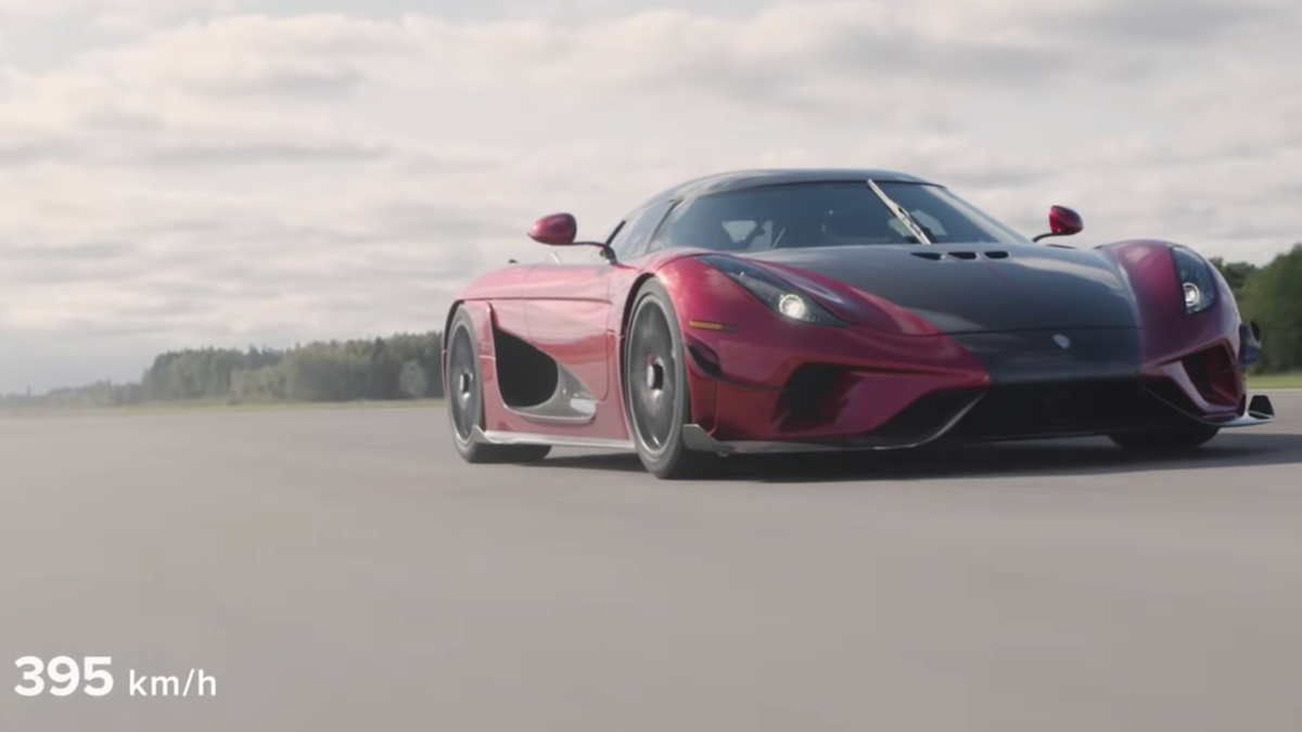 Koenigsegg Regera Proves It Only Needs One Gear To Set 0-400-0 Record
