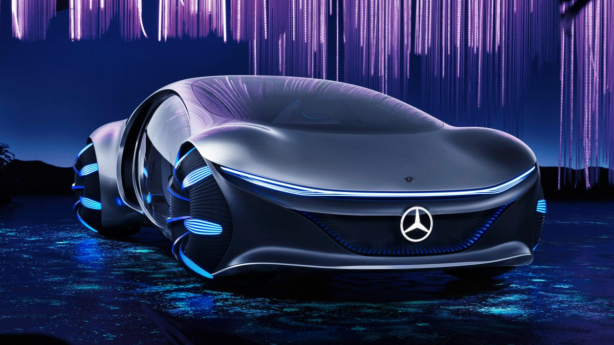 The Mercedes-Benz Vision AVTR Is Inspired By The Greatest ...