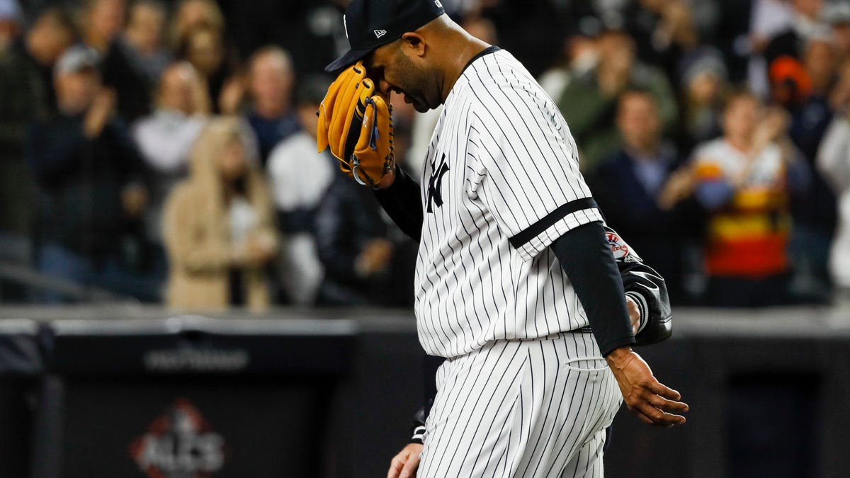 CC Sabathia Has Thrown His Last Pitch, And Joe Girardi Could Barely Hold It Together