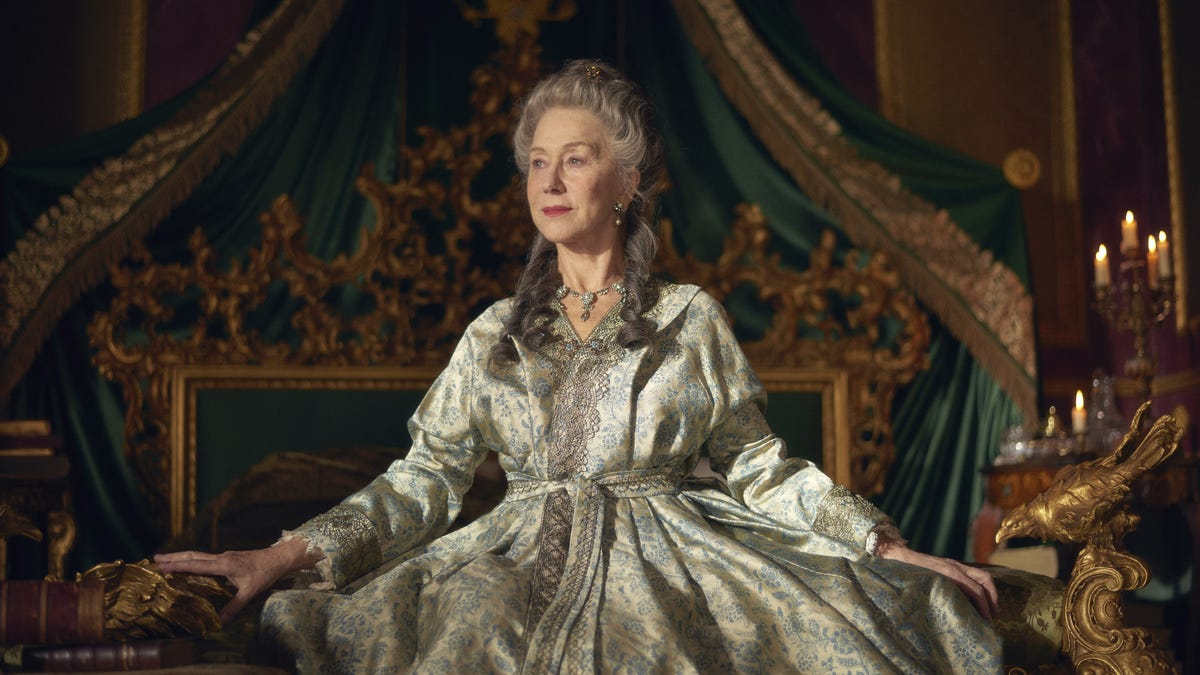 Helen Mirren is royal once again in HBO's Catherine The Great