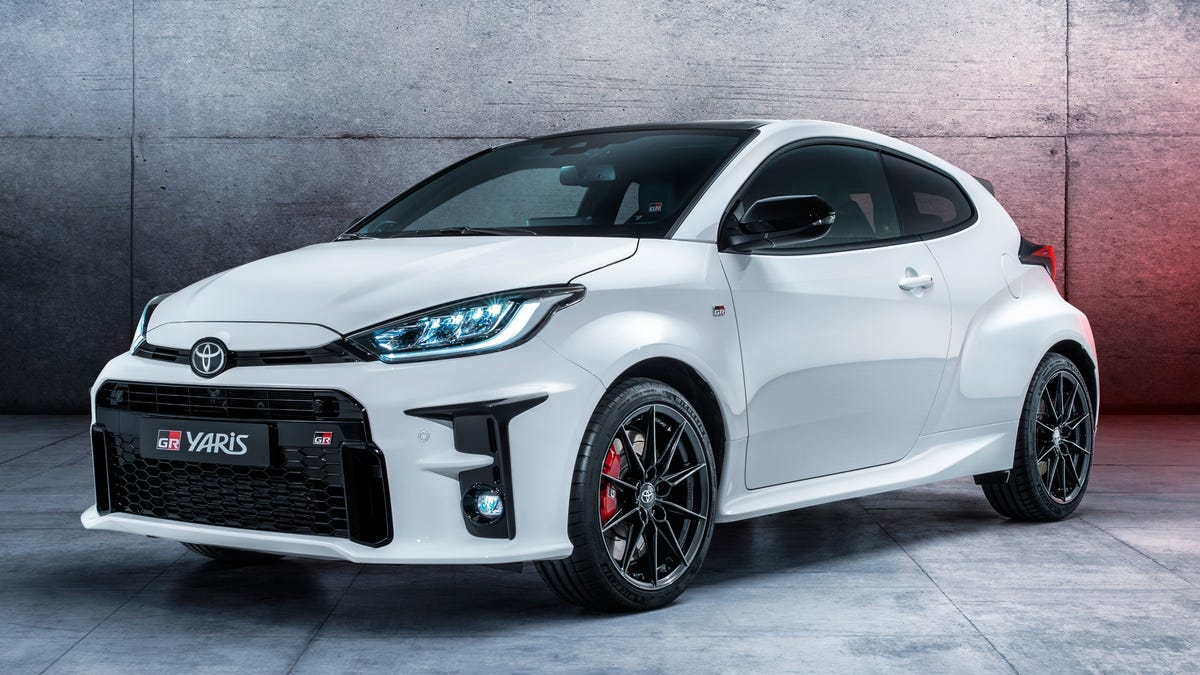 The 268-HP 2020 Toyota GR Yaris Is The Wildest Rally Special In Years