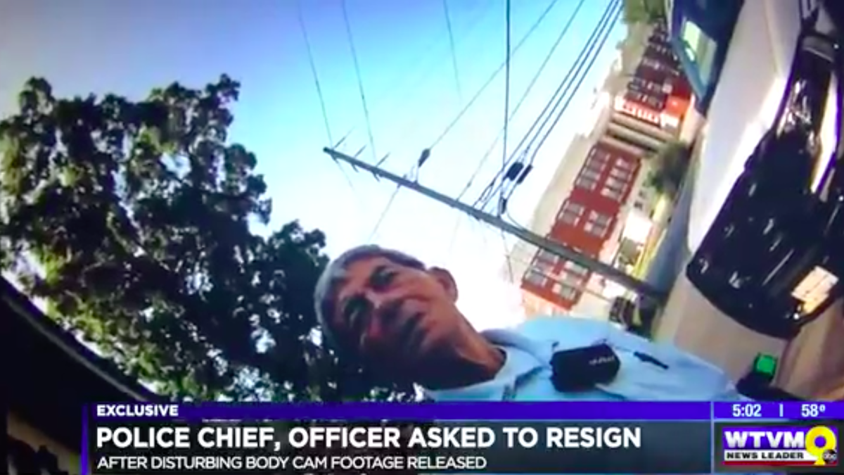 Police Chief and Officer in Hamilton, Ga., Caught on Body-Cam Footage Being Disgustingly Racist