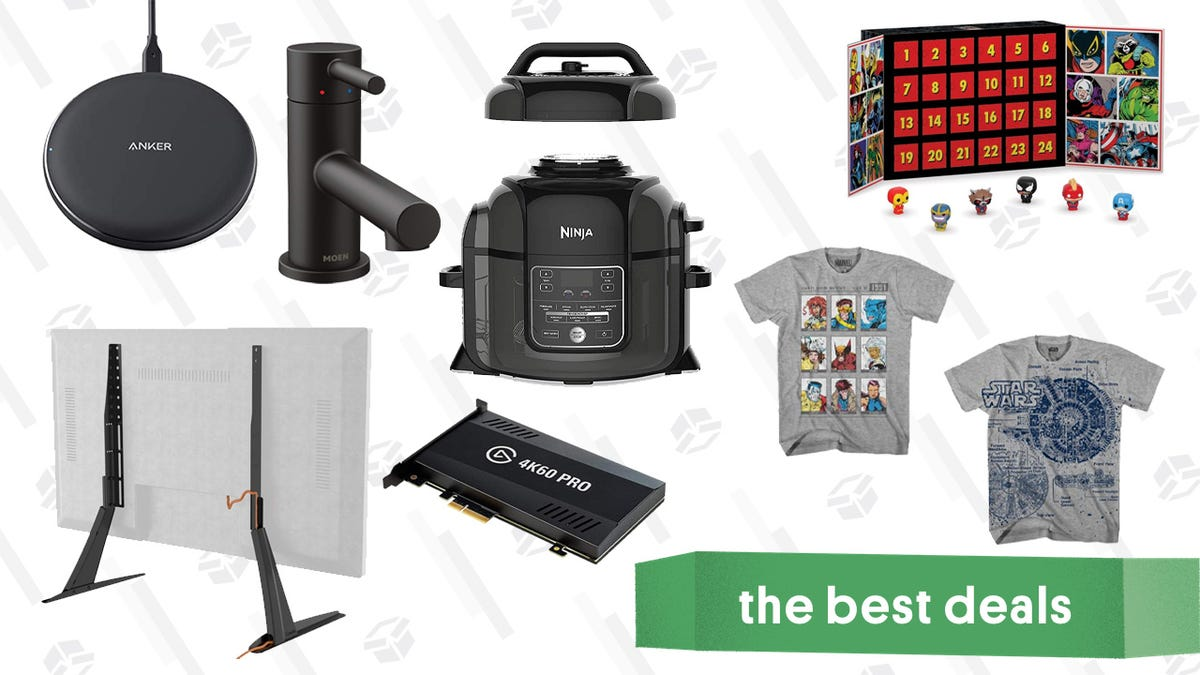 Wednesday's Best Deals: Marvel Advent Calendar, Tile + Echo Dot, Ninja Foodi, and More