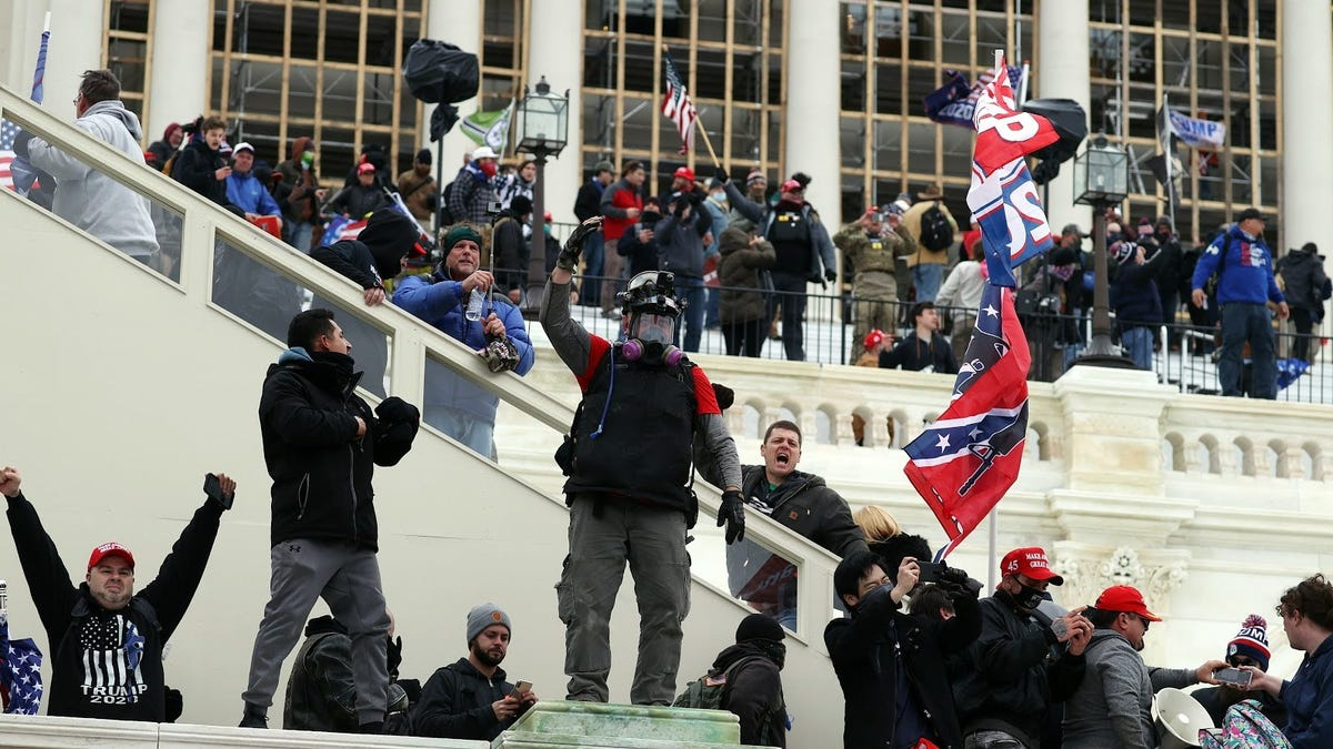 Terrorists take over Capitol and athletes wonder what would happen if they were Black