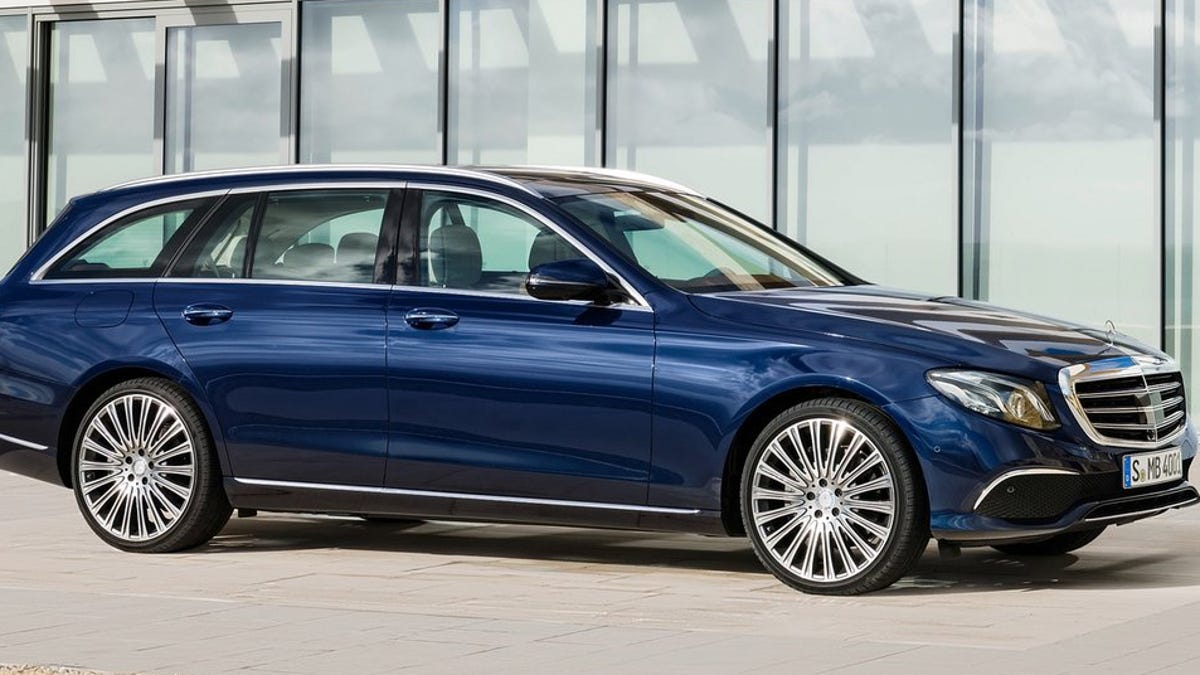 How Would You Configure Your 2018 Mercedes-Benz E400 Wagon?