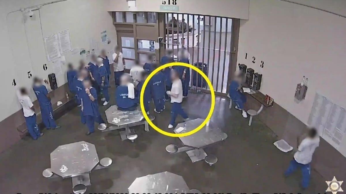 People in Custody in Los Angeles County Accused...