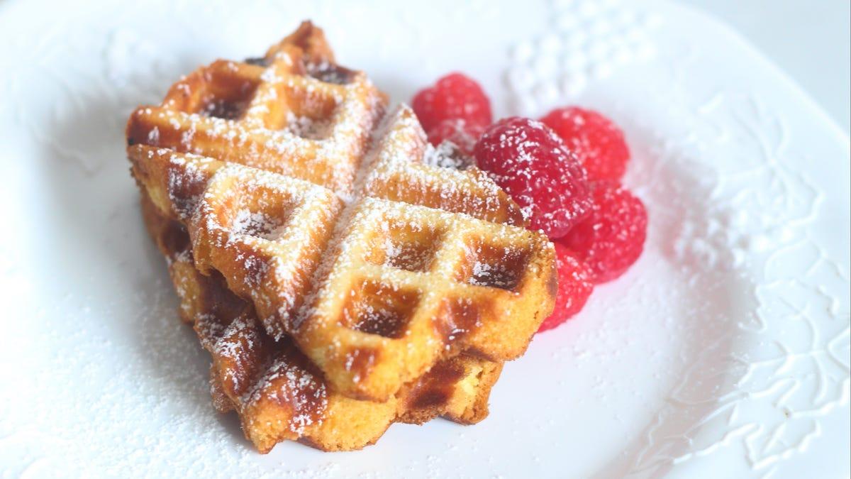 You Should Waffle Slices of Frozen Pound Cake