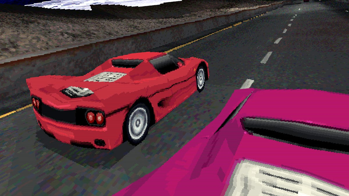 Behold These Hilariously Off-The-Mark Car Models From Old Racing Games