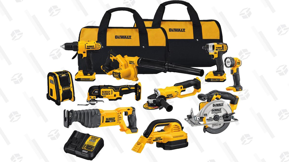 Home Depot Is Having a Big Sale on Select DEWALT Tools and ...